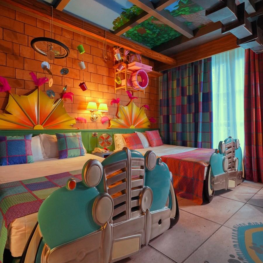 Le camere a tema degli Hotel di Gardaland | Gardaland Resort