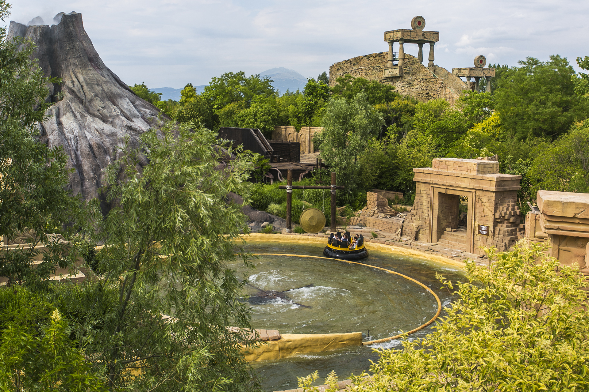 Gardaland Park - Jungle Rapids - Mulinello