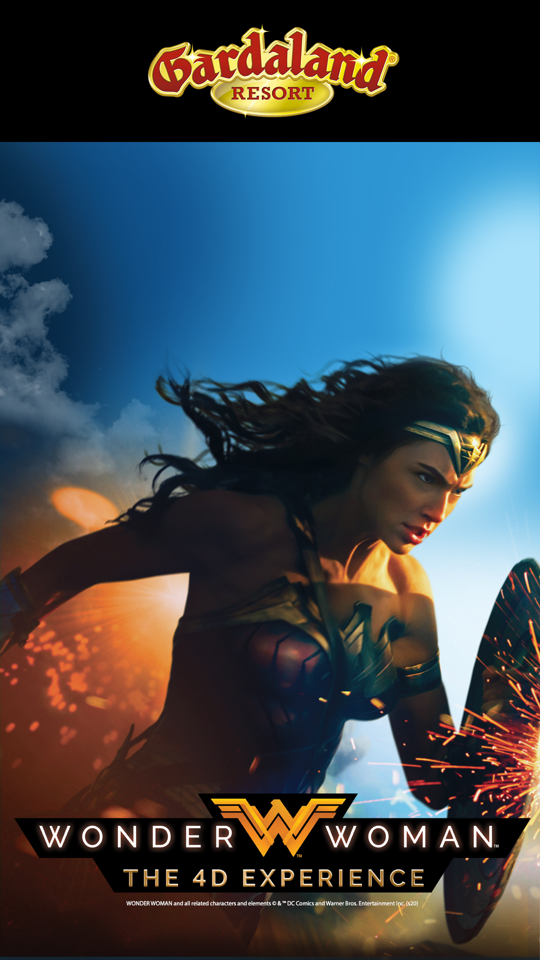 Wonder Woman - The 4D Experience at Gardaland